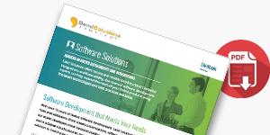 Download our Deltek integrations and software solutions handout